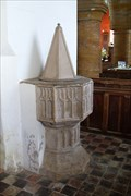 Image for The Font, St.Peter and St.Paul's Church, Preston Capes, Northants