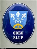 Image for Znak Slupi na Obecním úradu / Slup CoA on Municipal office - Slup (South Moravia)