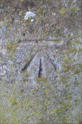 Image for Cut mark on the Church of All Saints,Messing, Essex. CO5 9TR.