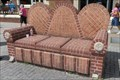 Image for Brick Couch - Chattanooga, Tennessee, USA.