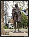 Image for New Gandhi statue unveiled in London's Parliament Square  - London, UK