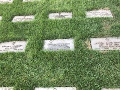 Robert S. Kennemore, Setting, San Francisco National Cemetery