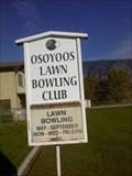 Image for Osoyoos Lawn Bowling Club - Osoyoos, British Columbia