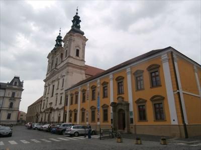 Jezuitská kolej s kostelem sv. Františka Xaverského, Uherské Hradište