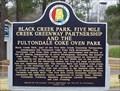 Image for Black Creek Park, Five Mile Creek Greenway Partnership and the Fultondale Coke Oven Park - Fultondale, AL