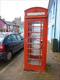 Image for Red Phone Box - Tregaron - Ceridigion, Wales.