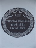 Image for Thomas Carlyle - London, UK
