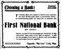 Image for First National Bank - Cody, WY