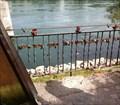 Image for Love Padlocks at the Covered Bridge - Bad Säckingen, BW, Germany