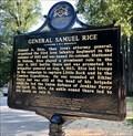 Image for General Samuel Rice - Near Leola, AR