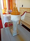 Image for St. Barnabas Anglican Church Font - Ecum Secum, NS