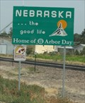 Image for WY-NE border on US 26  -- nr Morrill NE