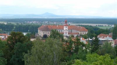 Výhled na roudnický zámek / View to Roudnice castle
