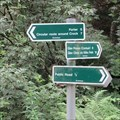Image for Direction and Distance Arrows - Glen Isla, Angus.