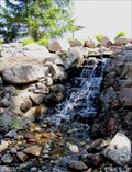 Image for Sandy Amphitheater Lower Waterfall - Sandy, Utah USA
