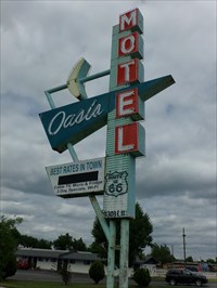 veritas vita visited Oasis Motel