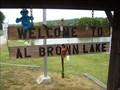 Image for Al Brown Lake in West City Park, Festus, Missouri