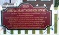 Image for James & Sarah Thompson House Historical Marker - Port Gamble, WA