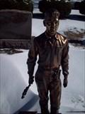 Image for Vislavski Headstone - Carpenter -Rosehill Cemetery Chicago, Illinois