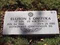 Image for Gravesite of Ellison Onizuka, Challenger astronaut