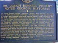Image for Dr. Ulrich Bonnell Phillips-Noted Georgia Historian-GHM-141-15-Troup County