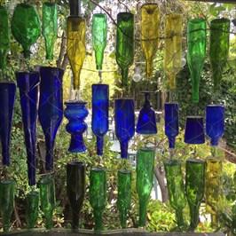 Bottle Sculpture, Left Side, Santa Cruz, California