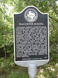 Image for Slaughter School