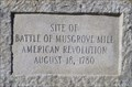 Image for Battle of Musgrove Mill - Clinton, SC.