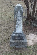 Image for OLDEST Tombstone in Old Bethel Cemetery - Phalba, TX