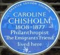 Image for Caroline Chisholm - Charlton Place, London, UK