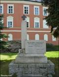 Image for František Sadílek Memorial / Památník Františka Sadílka - Kamenice nad Lipou (Vysocina region)