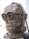 Image for C3PO Metal Sculpture - Oakland, California