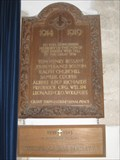 Image for Combined War Memorial - St Peter's Church, Church Knowle, Dorset, UK