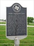 Image for Annie Carpenter Love