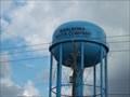 Image for Marlboro Water Company, Water tower at main office, Marlboro County