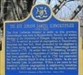 Image for The Rev. Johann Samuel Schwerdtfeger 1734-1803 - Morrisburg, Ontario
