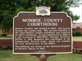 Image for Monroe County Courthouse Historical Marker