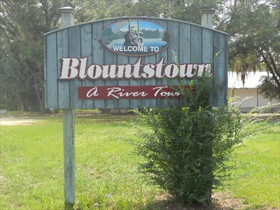 A River Town Blountstown Florida Welcome Signs On Waymarking