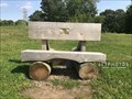 Image for Log Bench - Rivers Edge Recreation Complex - Woonsocket, RI