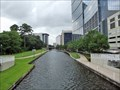 Image for Fish eyed as answer to green, weed-filled The Woodlands Waterway