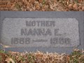 Image for 100 - Nanna E. Cornwell    - Fairlawn Cemetery - OKC, OK