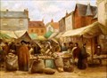 "Image for ""Hitchin Market"" and ""Straw Platting in Hitchin Market Place"" by Rosa Lucas – Market Place, Hitchin, Herts, UK"