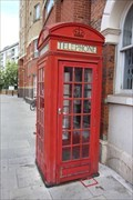 Image for Red Telephone Box - Hoxton Street, London, UK
