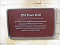 Image for Old Town Hall Plaque - St Paul's Square, Bedford, Bedfordshire, UK