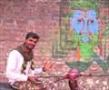 Image for Shiva Mural - Rishikesh, Uttarakhand, India
