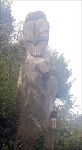 Image for Owl tree sculpture - Church Lane - Sutton Waldron, Dorset