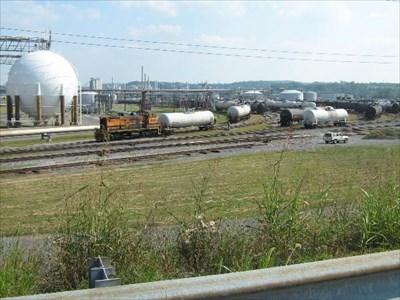 Eastman Chemical railyard - Kingsport, TN - Active Rail