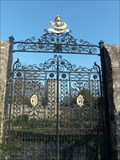 Image for Coronet Gates, St Fagans Castle, Cardiff, Wales.