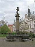 Image for Public Fountain with Plaguy Column / Kasna s morovym sloupem - Prague