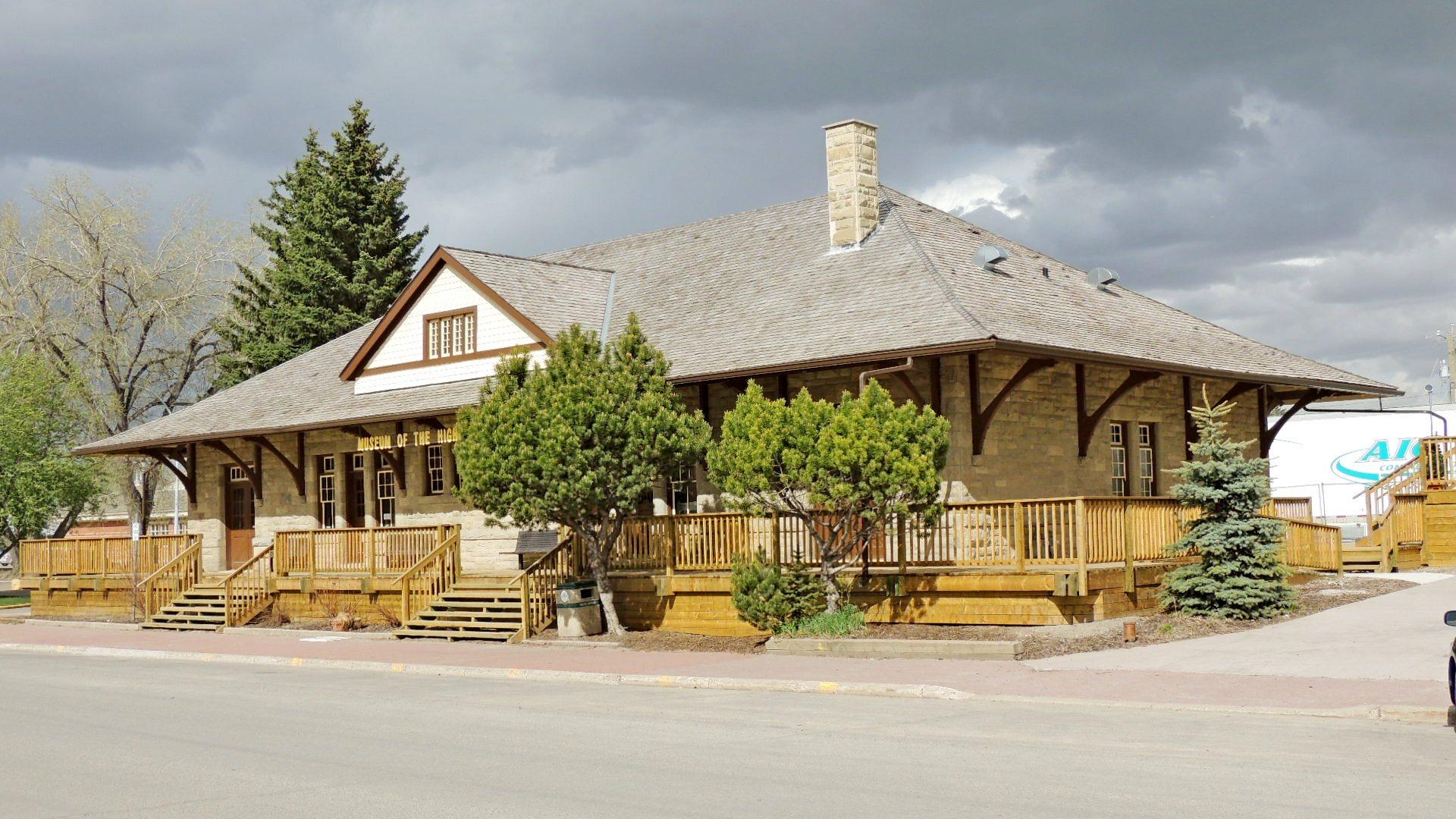 CP Railway Station - High River, AB